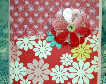 Floral Card for Any Occasion  20160005