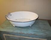 Large Oval Bath Tub Prop
