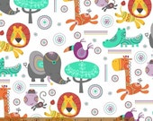 Rumble - Animals Multi by Whistler Studios from Windham Fabrics