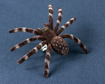 Spinning ring large ring Miniblings Halloween spider Tarantula finger ring XL