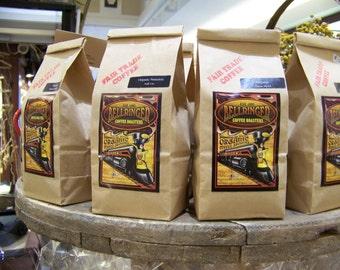 Coffee Whole Beans - Hand Roasted Dark Roast Fair Trade Organic Coffee Small Batch Artisan Coffee Roaster Espresso Roast - Whole Bean Coffee