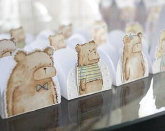 Goldilocks and The Three Bears Party Decor