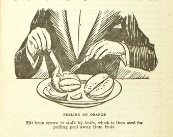1930s etiquette book, Etiquette for All by Eileen Terry