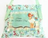 Retro Inspired Mother's Day Lavender Sachet/Door Hanger