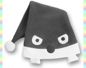 Naruto Sleeping Cap Hat - Soft Fleece Anime Grey White Geeky Ninja Child Teen Adult