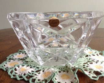 Large Leaded Crystal Bowl  NOW ON SALE