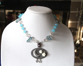 Fairy Moon Light One of a Kind Magical Necklace