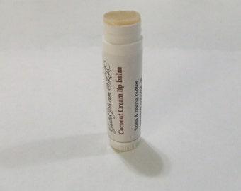 Coconut Cream Lip Balm in a tube