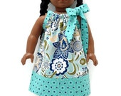 18 inch Doll Clothes Pillowcase dress Song Bird 15 inch Doll Clothes