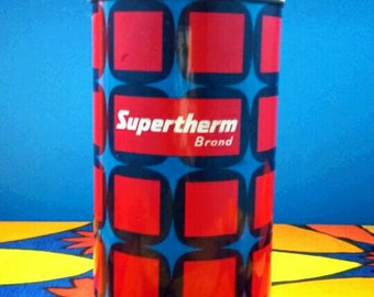 Vintage 1970's Boots Supertherm Thermos Flask