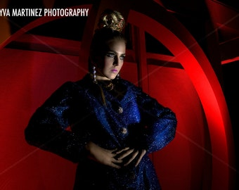 Mod Charlene 9x12 photo print by Tayva Martinez