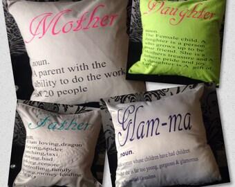 Noun cushion cover   Any colours