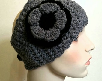 Crochet Ear Warmer and Fingerless Gloves Set