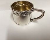 Vintage Sterling Silver Baby Cup Patricia Ann Gorham Strausberg