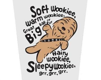 Soft Wookie Birthday Card