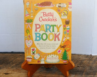 Vintage Betty Crocker's Party Book 1960