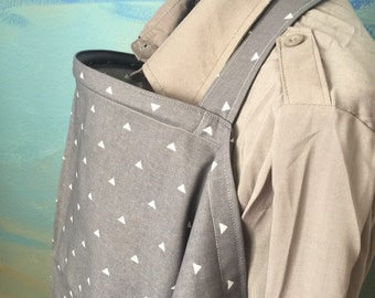 Breastfeeding nursing cover like hooter hider ready to ship new gray style or more in my store choose fabric