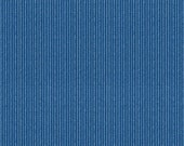 One Custom Twin Size Mattress/Daybed Cover Indoor/Outdoor  -  Marine Blue
