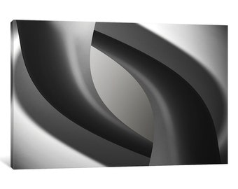 iCanvas Interweave Gallery Wrapped Canvas Art Print by Jutta Kerber