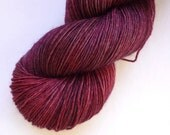 BFL Sock Yarn - Hand Dyed 75/25 BFL/Nylon Fingering Weight Yarn in One of a Kind Colorway