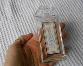 Perfume Bottle Fulfilment Vintage Glass Jar