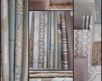 "Kravet Fabric - Lot of Upholstery Modern Fabric Sample- 10pcs-12 1/2"" x 12 1/2 "" - lot24f-FREE Shipping"