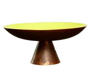 Enamel  Copper Dish