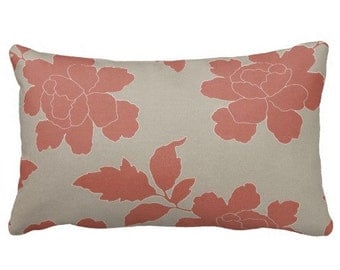 outdoor pillows patio pillow coral pillow pillow covers grey pillow floral