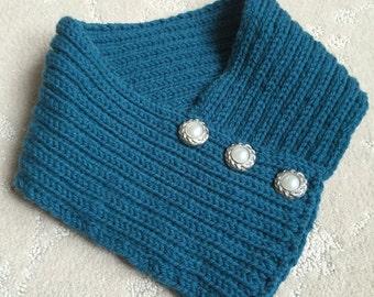 Rib Knit Infinity Cowl, Rib Knit Infinity Scarf,