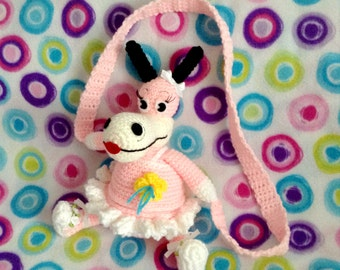 Crochet Toontown Ballerina Horse Purse