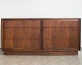 Mid Century Modern Lowboy Dresser / Dillingham