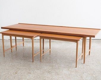Mid Century Danish Gunnar Schwartz Coffee Table