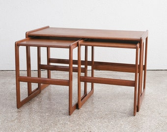 Mid Century Nesting Bench / Side Tables G Plan