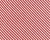 First Crush Apple Red Diagonal Stripes from Moda Fabric's First Crush Collection by Sweetwater