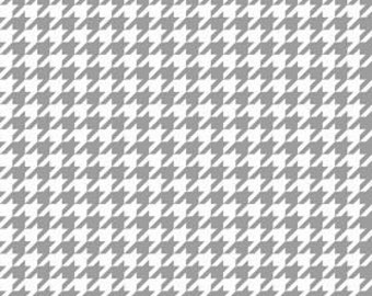 Medium Gray Houndstooth From Riley Blake
