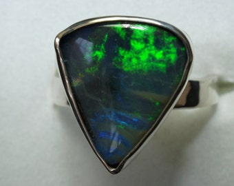 QUEENSLAND Boulder Opal ring