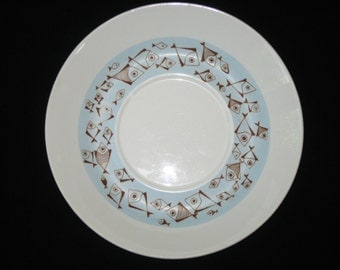 Arabia Finland Rare FISH Large Saucer for Flat Cup 1953