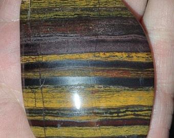 Large Tigereye Mineral Pendant