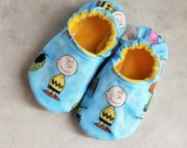 Peanuts Slippers-Choose your Characters-Charlie Brown Slippers