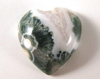 Ocean Jasper Heart  ETOJ519
