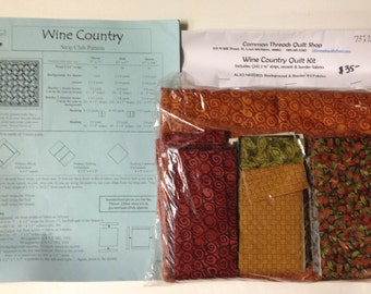 Wine Country Quilt Kit
