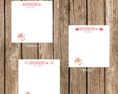 note pads/custom note pad/writing pads/customize note pads/teacher note pads/teacher writing pad/personalized note pad/note pad