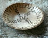 Ripple Oak Rune Oracle Dish