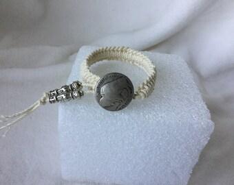 Bracelet, Woven Bracelet, Buffalo Head Bracelet, String Bracelet, Macrame Bracelet, Knotted Bracelet, Friendship Bracelet