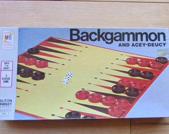 1973 Backgammon Board Game