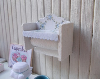 paper roll holder shabby chic 1.12 th
