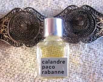 1960s Vintage Calandre Sample Bottle Mothers Day