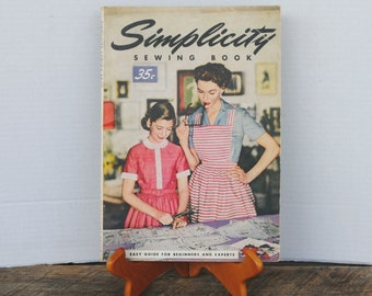 Vintage Simplicity Sewing Book 1953 Easy Guide For Beginners and Experts