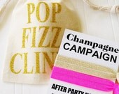 Pop Fizz Drink Party Favor, 21st Birthday party bachelorette dirty 30 birthday hangover kit martini clink cheers  champs drink champs