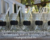 Chalkboard Wedding Favors,Chalkboard Labels,100 Chalkboard Labels,Mason Jar Wedding Favors,Mason Jar Labels,Rustic Wedding Decor